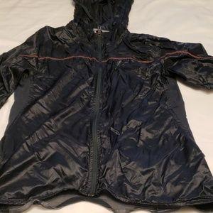 Adidas women running nilon windbreaker jacket SZ S